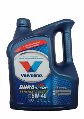 Моторное масло VALVOLINE Durablend MXL SAE 5W-40 (4л)