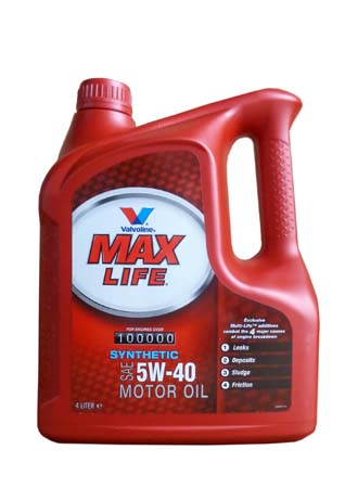 Моторное масло VALVOLINE Maxlife Synthetic, 5W-40, 1л, VE18047