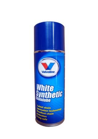 Смазка для цепных передач VALVOLINE White Synth Chainlube (0,4л)