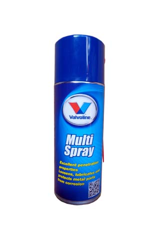 Многофункциональный спрей VALVOLINE Multi Spray (0,4л)