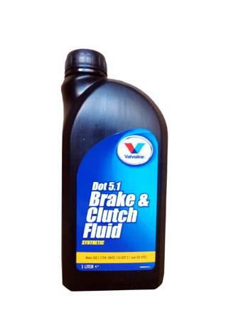 Тормозная жидкость VALVOLINE BrakeFluid DOT 5.1 (0,5л)