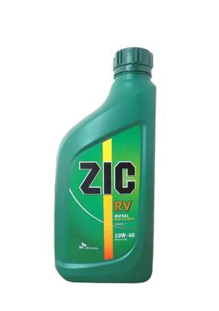 Моторное масло ZIC RV, 10W-40, 1л, 133129