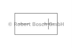 Аккумуляторная батарея Bosch Funstart AGM, 12 В, 3 А/ч, 30 А, 0092M60010