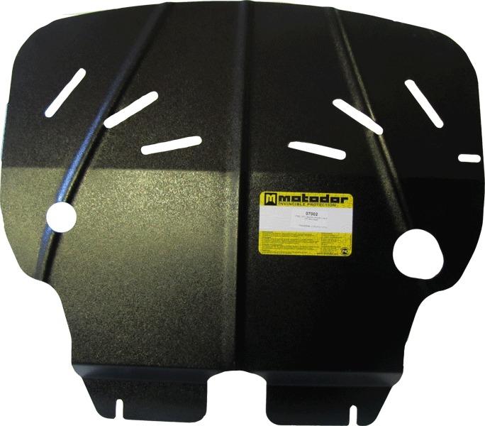 Защита картера двигателя, КПП Mini Cooper II 2006- V= все (сталь 2 мм), MOTODOR07002
