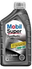 Моторное масло Mobil Super Synthetic, 10W-30, 0.946л