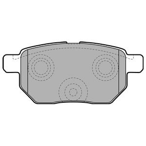 Колодки дисковые, DELPHI, LP2105