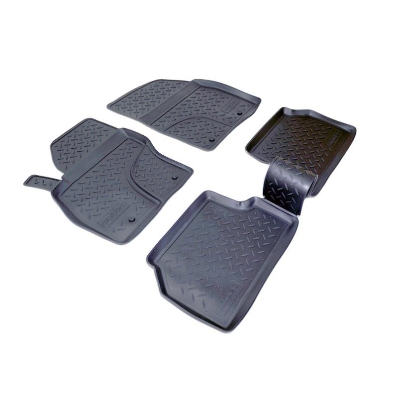 Коврики салона для Ford Focus II (2008-2011), NPLPO2216