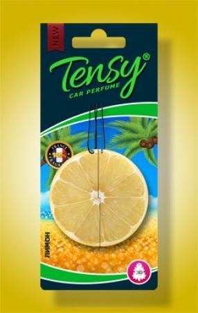 Ароматизатор Tensy 3D картон (Лимон) 30шт./блок, TX03