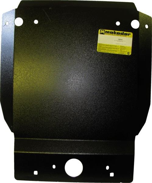 Защита картера двигателя, КПП Toyota Hilux 2006-2011 Toyota Hilux 2011- V=2,7i VVT (сталь 3 мм), MOT