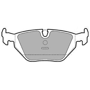 Колодки дисковые, DELPHI, LP907