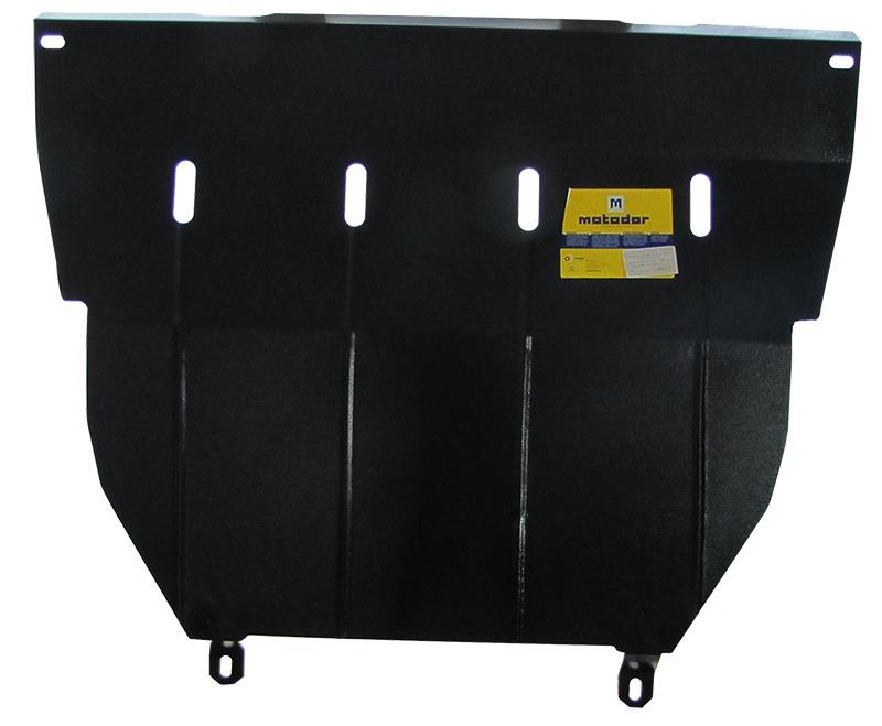 Защита картера двигателя, КПП Kia Carens 2000-2006 V= все (сталь 2 мм), MOTODOR01015