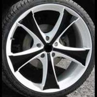 Колесный диск Yokatta MODEL-9 6.5x16/5x112 D63.3 ET50 белый +черный (W+B)