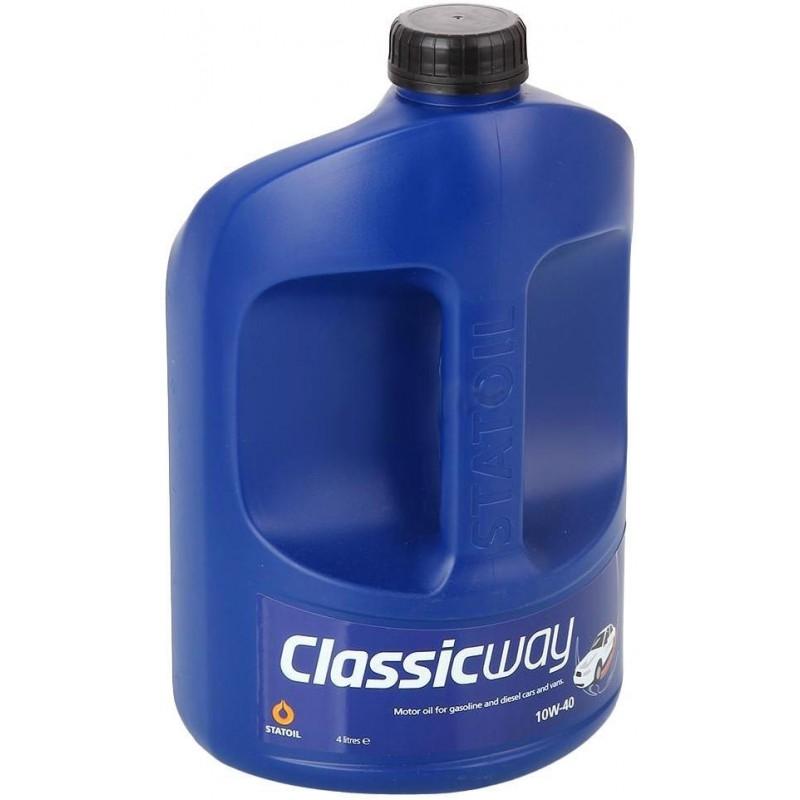 Моторное масло STATOIL CLASSICWAY, 10W-40, 4л, 1000241
