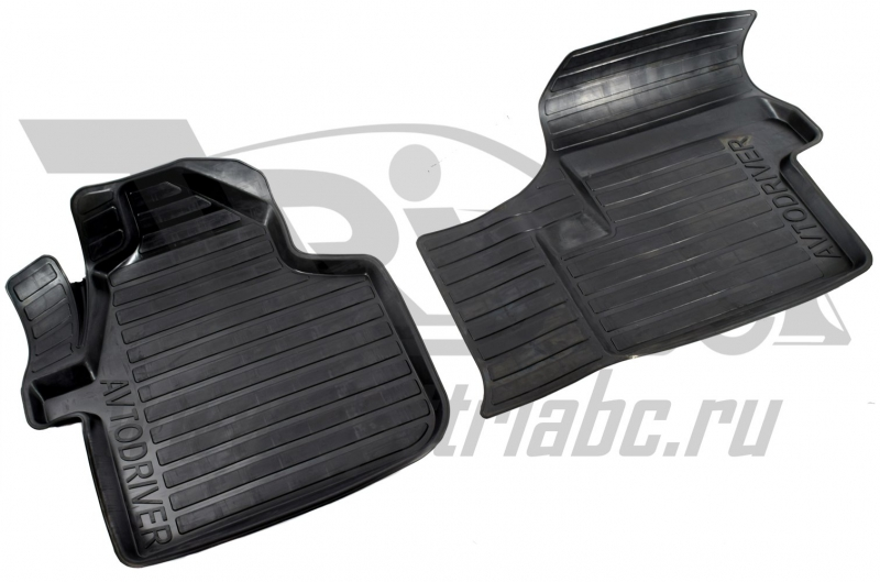 Коврики салона резиновые с бортиком для Volkswagen Crafter (2006-2011) (2 передних), ADRAVG117