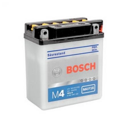 Аккумуляторная батарея Bosch Funstart FreshPack, 12 В, 3 А/ч, 10 А, 0092M4F160