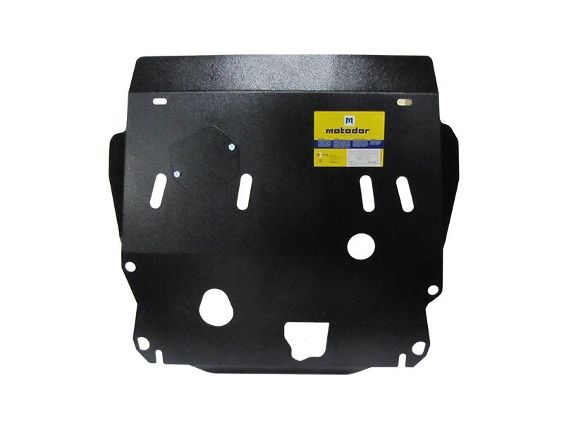 Защита картера двигателя, КПП Nissan X-Trail II 2007-2014 V= все (сталь 2 мм), MOTODOR01426