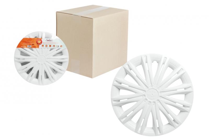 "Колпаки для колес AIRLINE 13""Скай""белые. 2 шт, AWCC1312"