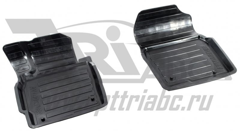 Коврики салона резиновые с бортиком для Mazda CX 5 (2012-) (2 передних), ADRAVG1642