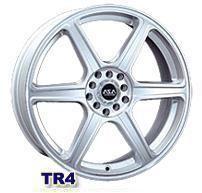 Колесный диск Asa TR4 7x16/5x114,3 D71.4 ET40 серебро
