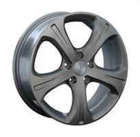 Колесный диск Ls Replica H15 7x18/5x114,3 D66.1 ET50 серый глянец (GM)