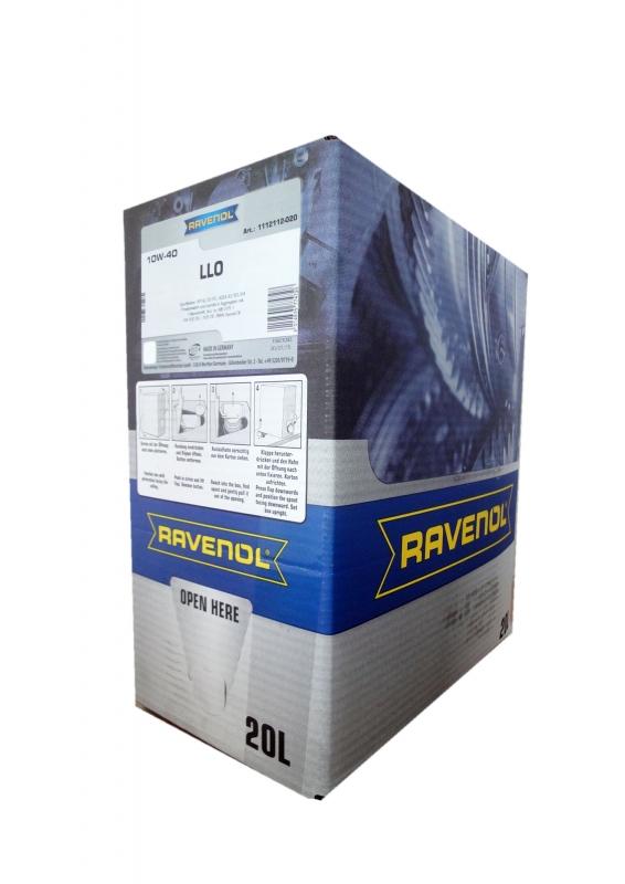 Моторное масло RAVENOL Leichtlaufoel LLO, 10W-40, 20л, 4014835774728