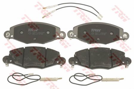 Колодки дисковые Передние, TRW, GDB1449