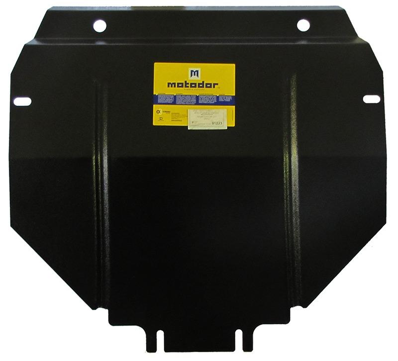 Защита картера двигателя, КПП MB W123 V=2.0 ,2.3, 2.5TI (1976-1985)(сталь 2 мм), MOTODOR01223