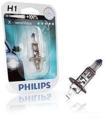 "Лампа ""X-tremeVision"", 12 В, 55 Вт, H1, P14,5s, PHILIPS, 12258 XVB1"