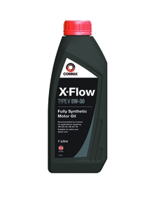 Моторное масло COMMA 5W30 X-FLOW TYPE V, 1л, XFV1L
