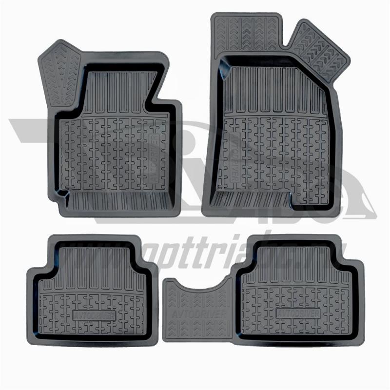 Коврики салона резиновые с бортиком для Hyundai ix35 (2010-), ADRPRO009