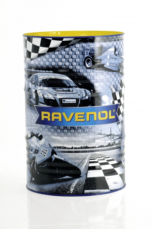 Моторное масло RAVENOL Motobike 4-T Ester, 10W-40, 60л, 4014835783430