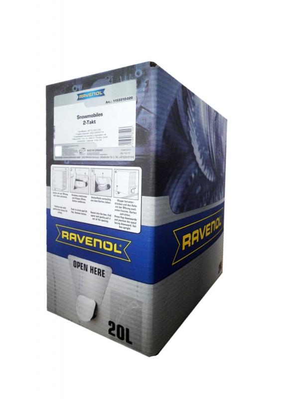 Моторное масло RAVENOL Snowmobiles Mineral 2-Takt, 20л, 4014835781023