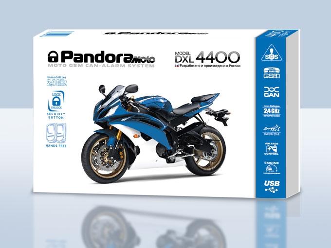 Мотосигнализация PANDORA DXL4400MOTO