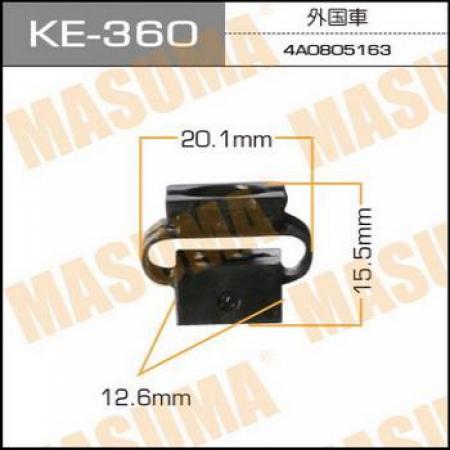 Клипса автомобильная (автокрепеж) MASUMA, KE360