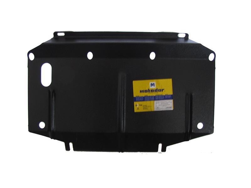 Защита радиатора Nissan Navara III (D40) 2005- Nissan Pathfinder III 2004-2014 V= все (сталь 2 мм),