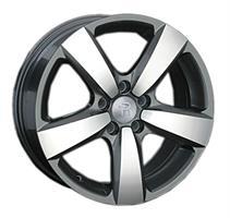 Колесный диск Ls Replica VW112 7x17/5x112 D72.6 ET43 серый матовый, полностью полированный (GMF)