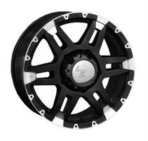 Колесный диск LS Wheels LS 212 7x16/6x139,7 D93.1 ET10 черный с дымкой полностью полированный (MBF)