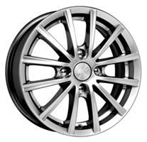 Колесный диск Кик Баттерфляй 5.5x13/4x98 D66.6 ET35 блэк платинум