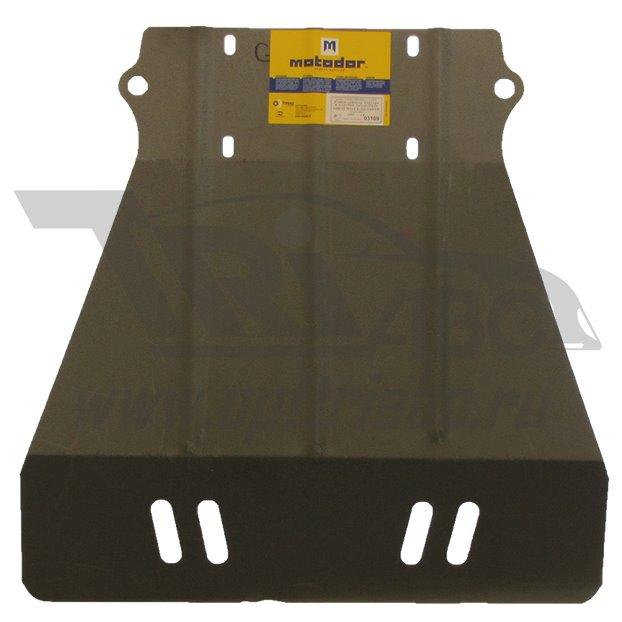 Защита картера двигателя, КПП GREAT WALL DEER c бортовой платформой/ходовая часть 2005- все объемы (