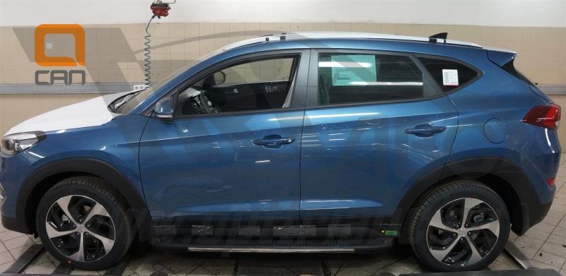 Пороги алюминиевые (Onyx) Hyundai Tucson (2015-) / Kia Sportage (2016-), HYTU521330