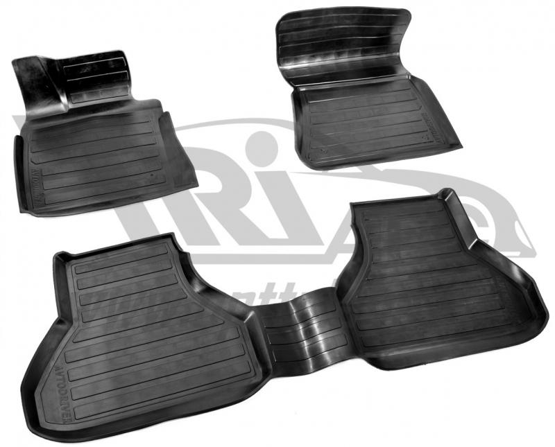 Коврики салона резиновые с бортиком для BMW X5 (2007-2013), ADRAVG103