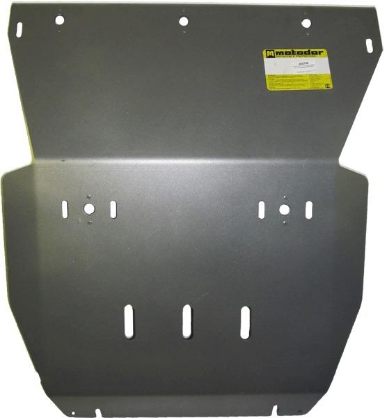 Защита картера двигателя, радиатора VW Amarok 2009- V=2,0TDi (алюминий 8 мм), MOTODOR382706