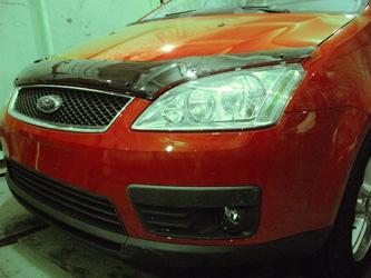 Дефлектор капота Ford C-Max (2003-2010) (темный), SFOCMA0312
