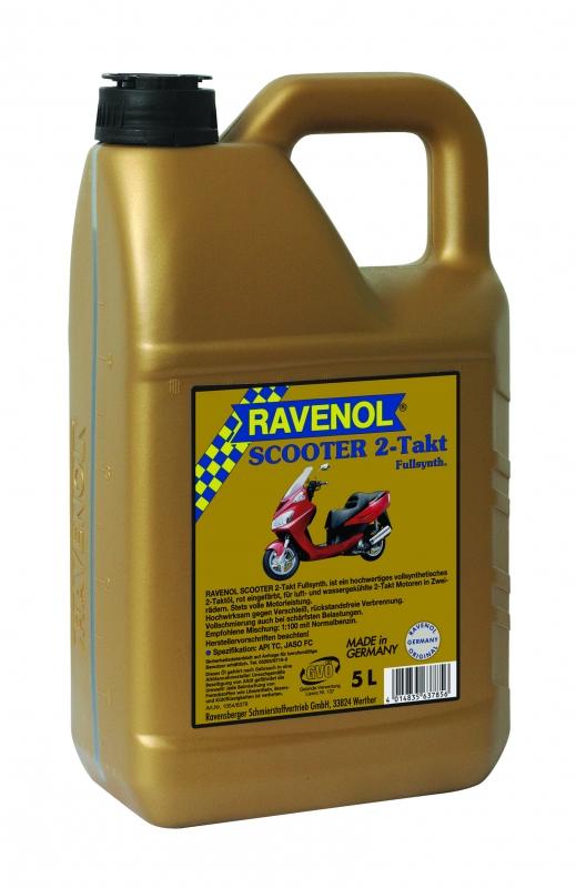Моторное масло RAVENOL Scooter 2-Takt, 5 л, 4014835637856