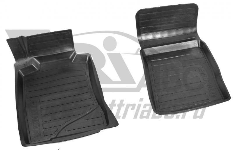 Коврики салона резиновые с бортиком для Mercedes-Benz W211 (2002-2009) (2 передних), ADRAVG2542