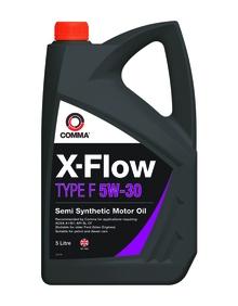 Моторное масло COMMA 5W30 X-FLOW TYPE F, 5л, XFF5L