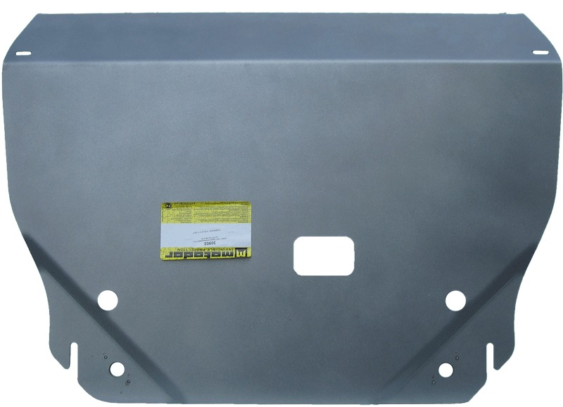 Защита картера двигателя, КПП Hyundai IX35 2010- Kia Sportage III 2010- V= все (алюминий 5 мм), MOTO