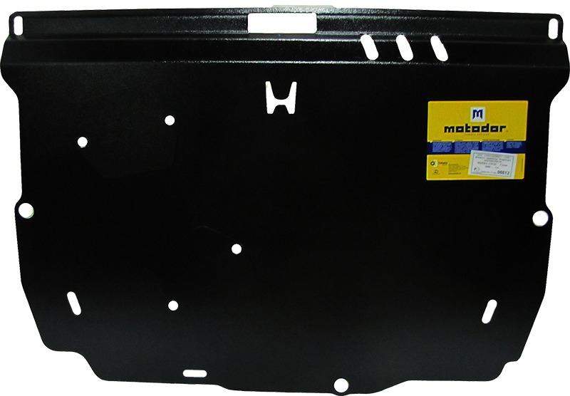 Защита картера двигателя, КПП Honda Civic 4D VIII 2006-2011 V= все (сталь 2 мм), MOTODOR00812
