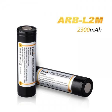 Аккумулятор Fenix, 18650 Li-ion 2300 mAh, защищенный, ARBL2M