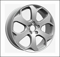 Колесный диск Ls Replica V10 7.5x17/5x108 D57.1 ET49 серебристый (S)